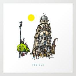 Sevilla 1 Art Print