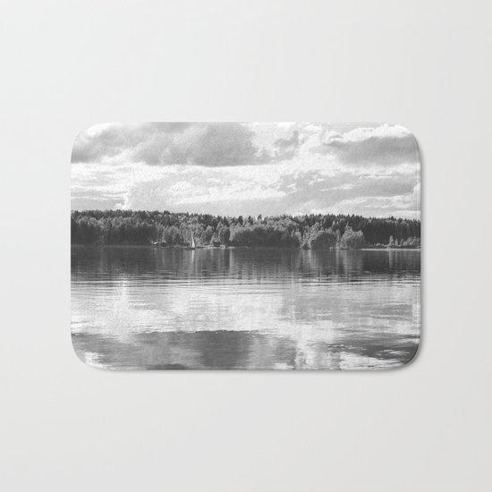 Reflections On A Lake Bath Mat