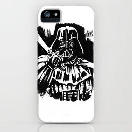 Japanesse Vader iPhone Case