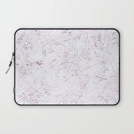 White Chipboard Laptop Sleeve