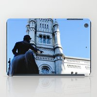 onward iPad Cases featuring Onward (Philadelphia) by Julie Maxwell