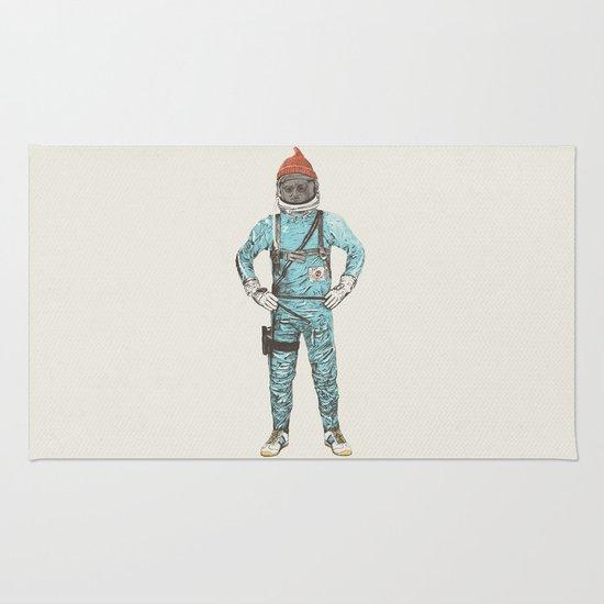 Zissou In Space Rug