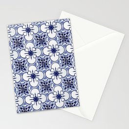 Portuguese Tiles Blue and White III Azulejos Stationery Cards