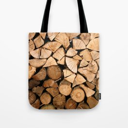 Wood Profile Tote Bag