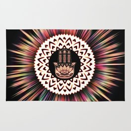 RADIANT HAND OF PROTECTION Rug
