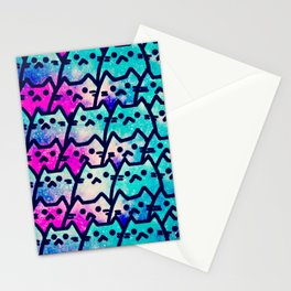 cats beautiful version 105 Stationery Cards