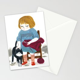 Two cuties Stationery Cards