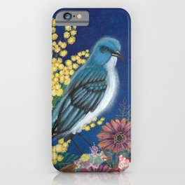 Gabriel the Mexican Blue Jay iPhone Case