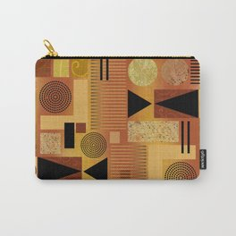 GEO-1 | yellow gold Carry-All Pouch