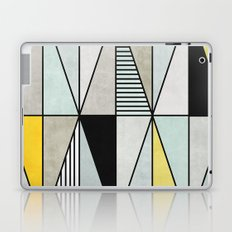 Colorful concrete triangles Laptop & iPad Skin