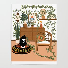 plant lady is the new cat lady Poster
