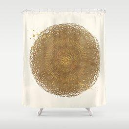 Prairie Mandala Shower Curtain