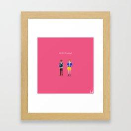 Baby Driver Framed Art Print
