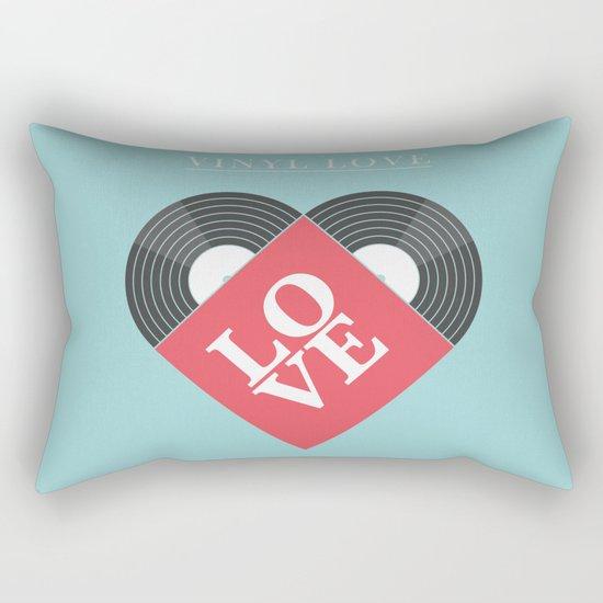 Vinyl Love Rectangular Pillow