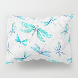 Dragonflies on Paisley Pillow Sham