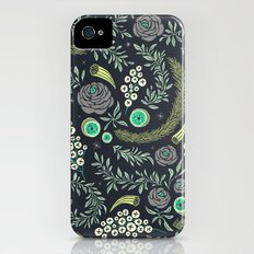 Winter's Eve Floral iPhone (4, 4s) Slim Case
