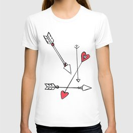 straight thru the heart T-shirt