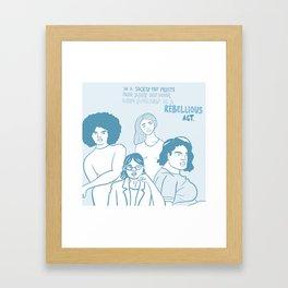 Self-love Framed Art Print