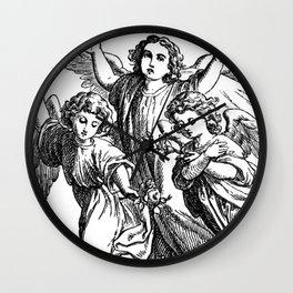 Cherubs | Angels | Three angels | Gothic Church | Gothic Decor Wall Clock