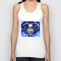 kakashi Tank Tops featuring The Ninja from Leaf Village by cromarlimo