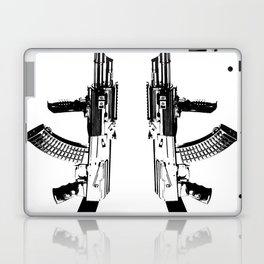 BLACK AK 47 Laptop & iPad Skin