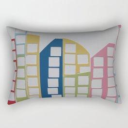 Cityscape 2 Rectangular Pillow