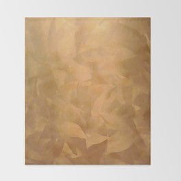 Brushed Copper Metallic - Beautiful - Rustic Glam - Fancy Faux Finishes - Metallic Paint Throw Blanket
