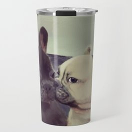 Frenchie kiss Travel Mug