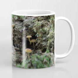 Orange Mushrooms Coffee Mug