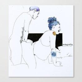 NUDEGRAFIA - 26 Canvas Print