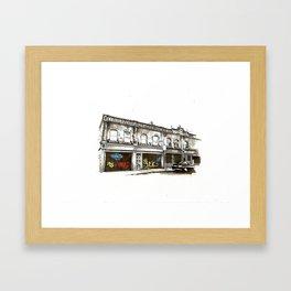 Shutters, Grantham Street, Dublin Framed Art Print
