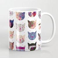 kindle Mugs featuring C.C. iii by Nikola Nupra