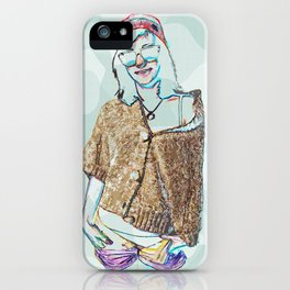 Zoe. iPhone Case