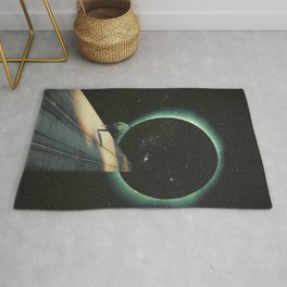 Escaping into the Void Rug