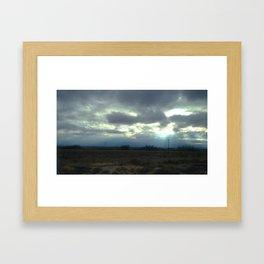 Bursting Forth Framed Art Print
