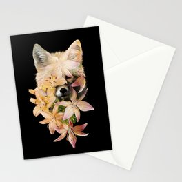 Foxy Flowers Stationery Cards