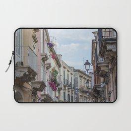 Street in Syracuse, Sicily Laptop Sleeve
