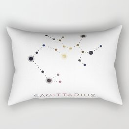SAGITTARIUS STAR CONSTELLATION ZODIAC SIGN Rectangular Pillow