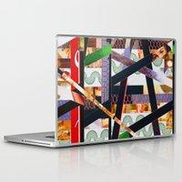 ruben ireland Laptop & iPad Skins featuring Ruben (stripes 19) by Wayne Edson Bryan