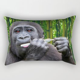 Skin-up Gorilla Rectangular Pillow