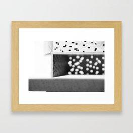 No Light Without Darkness #3 Framed Art Print