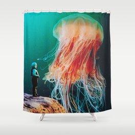 The Ledge Shower Curtain
