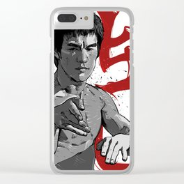 BruceLee Clear iPhone Case
