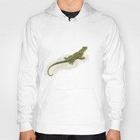 lizard Hoodies featuring Lizard by Michelle Behar