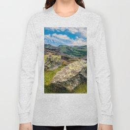 Quarry Steps Snowdonia Long Sleeve T-shirt