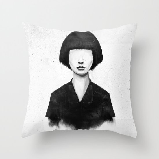 what you see is what you get Throw Pillow