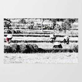 Rice field Rug