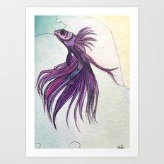 .beta i Art Print