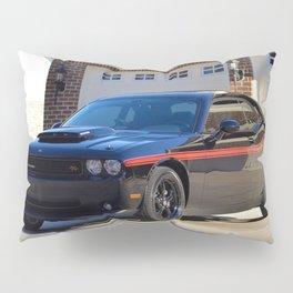 2010 MOPAR '10 Black Challenger Limited Edition Red Stripe Variation Pillow Sham