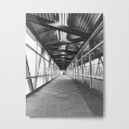 Skywalk Series - Civic Center Metal Print